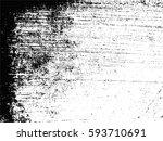 grunge overlay texture.vector... | Shutterstock .eps vector #593710691