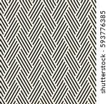 vector seamless pattern  modern ... | Shutterstock .eps vector #593776385