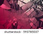 abstract 3d rendering of...   Shutterstock . vector #593785037