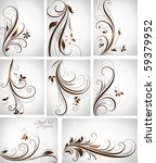 abstract floral background... | Shutterstock .eps vector #59379952