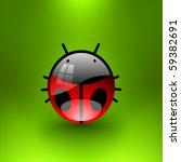 vector jewel ladybug