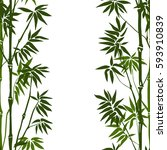 Green Bamboo Seamless Vertical...
