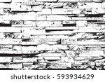 distress brick wall masonry... | Shutterstock .eps vector #593934629