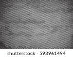 halftone black overlay texture. ... | Shutterstock .eps vector #593961494