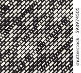 vector seamless black and white ... | Shutterstock .eps vector #593974505