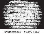 distress brick wall masonry... | Shutterstock .eps vector #593977169