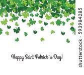 congratulation saint patrick's... | Shutterstock . vector #593984285