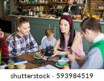 close up of group of young...   Shutterstock . vector #593984519