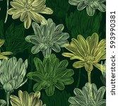 beautiful  bright  gentle ...   Shutterstock .eps vector #593990381