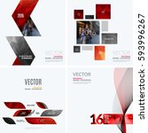 business vector design elements ... | Shutterstock .eps vector #593996267