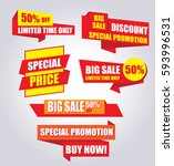 black friday super sale poster  ... | Shutterstock .eps vector #593996531