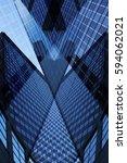 business cityscape fragment... | Shutterstock . vector #594062021