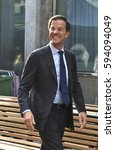 Small photo of The Hague, The Netherlands - September 20, 2016: Prime Minister and Minister of General Affairs Mark Rutte in the Hague
