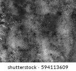 black grunge texture background.... | Shutterstock . vector #594113609