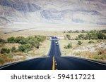 death valley national park ...   Shutterstock . vector #594117221