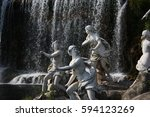 Group Of Old Statues Of...
