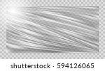 transparent glossy polyethylene ... | Shutterstock .eps vector #594126065