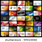 business card template | Shutterstock .eps vector #59414440