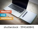 request for proposal concept | Shutterstock . vector #594160841