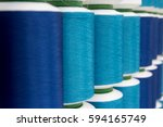 closed up of various blue color ... | Shutterstock . vector #594165749