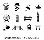 London Icon Set Collection...