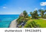Tropical Beach In Caribbean Sea ...
