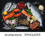 Fresh Fish And Seafood...