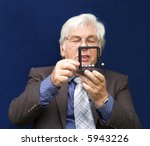 executive playing with his toy... | Shutterstock . vector #5943226