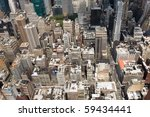 buildings in a big city | Shutterstock . vector #59434441
