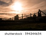 south gare  united kingdom  ... | Shutterstock . vector #594344654