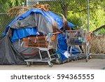 los angeles california  ...   Shutterstock . vector #594365555