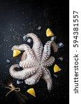 Raw Octopus With Lemon  Salt...