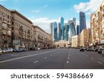Landscape Of Moscow...