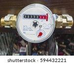 water meter | Shutterstock . vector #594432221