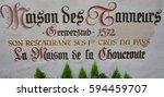 strasbourg  france   july 22... | Shutterstock . vector #594459707