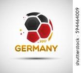 football championship banner.... | Shutterstock .eps vector #594464009