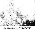 splatter paint texture .... | Shutterstock .eps vector #594474749