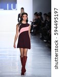 new york  ny   february 10  a... | Shutterstock . vector #594495197