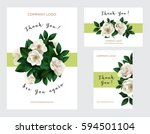 a set of cards with the words... | Shutterstock .eps vector #594501104