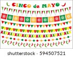 cinco de mayo celebration set...