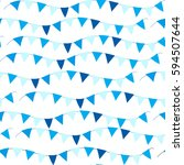 happy israel independence day... | Shutterstock .eps vector #594507644