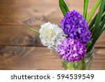 Fresh Hyacinth Flowers On...