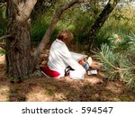 the moor  heath on a sunny... | Shutterstock . vector #594547