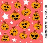 halloween seamless pattern ... | Shutterstock . vector #59455348
