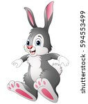 vector illustration of cute... | Shutterstock .eps vector #594553499