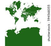 world map   Shutterstock .eps vector #594568355