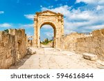 al bass archaeological site in... | Shutterstock . vector #594616844