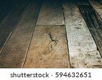 Dark Brown Vintage Wood Board...
