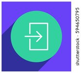 login vector icon illustration