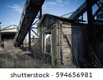 ukraine  odessa  the ruins of a ... | Shutterstock . vector #594656981